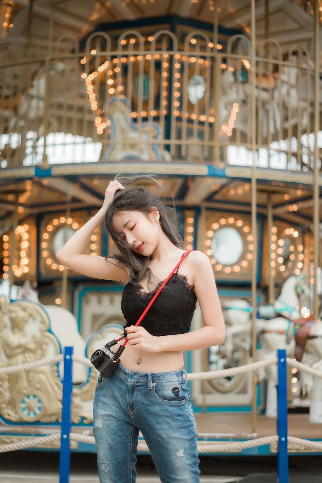 Thailand Hot Girl - Thanyarat Charoenpornkittada - My Memory Childhood Park - TruePic.net - Picture 1