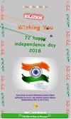 Happy Independence Day 2018 Viral Wishing Script website download link