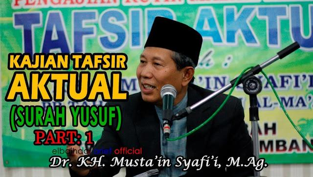 """Ansor NU Jombang Bongkar Hoax """"Energi Al Maidah 51 yang Dibuat Atas Nama KH Musta'in Syafii"""