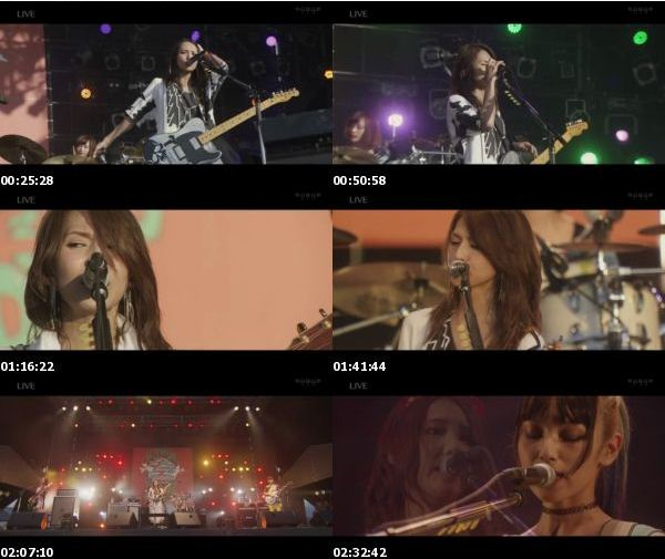 [TV-Variety] SCANDAL 10th ANNIVERSARY FESTIVAL「2006-2016」 (WOWOW Live 2016.08.21)