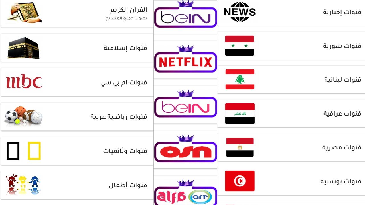 شاهد القنوات العربية المجانية منها والمشفرة وبدون دفع اي سنت/عالم التيفي+سرفرiptv