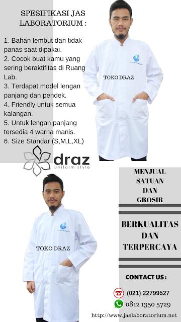 promo Tempat jual jas laboratorium murah dan berkualitas di Tangerang Toko Draz