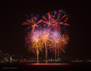 Canon EOS 6D Fireworks - V&A Waterfront Cape Town