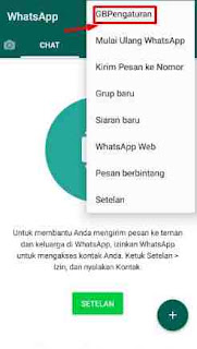 Cara Mengganti Background Layar Utama Whatsapp