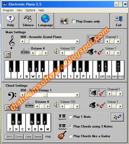 piano software for pc free download full version