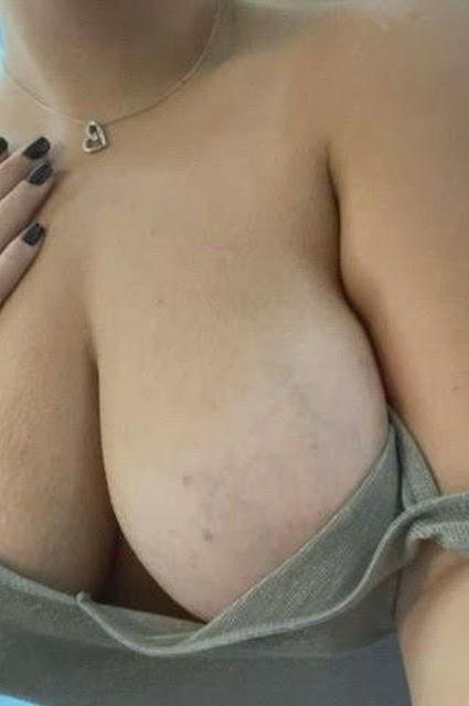 sexy busty woman with big nipples