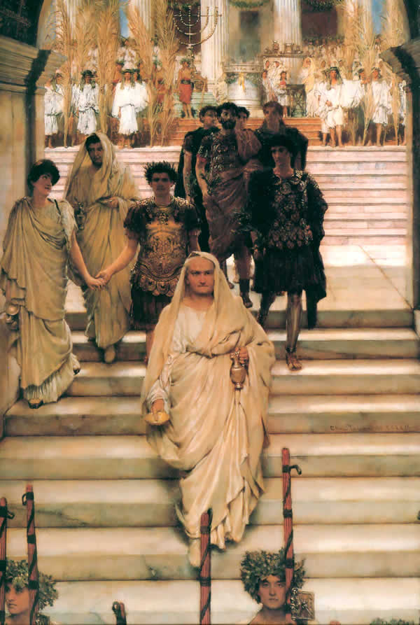 The Triumph of Titus Alma Tadema
