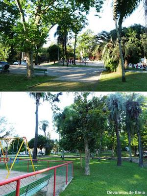 Praça Japão em Porto Alegre