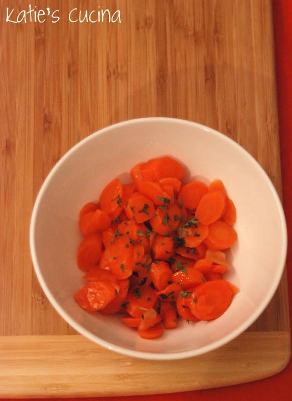 Honey-Ginger Carrots - Katie\'s Cucina