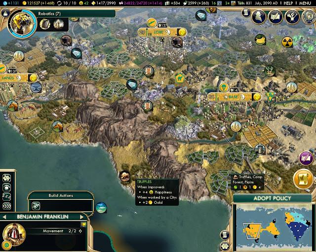 Civilization 5: Brave New World - 120 000 Gold