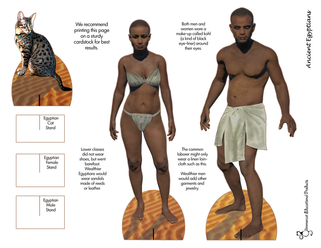 What Did Egyptian Women Wear