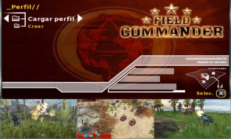 Field Commander PSP Español