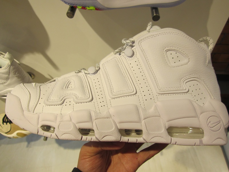1db483a4726 Nike Air More Uptempo Triple White available at Titan Vertis North ...