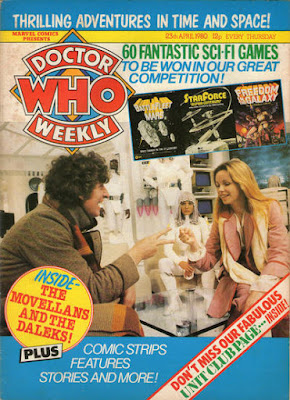 Doctor Who Weekly #28, the Movellans