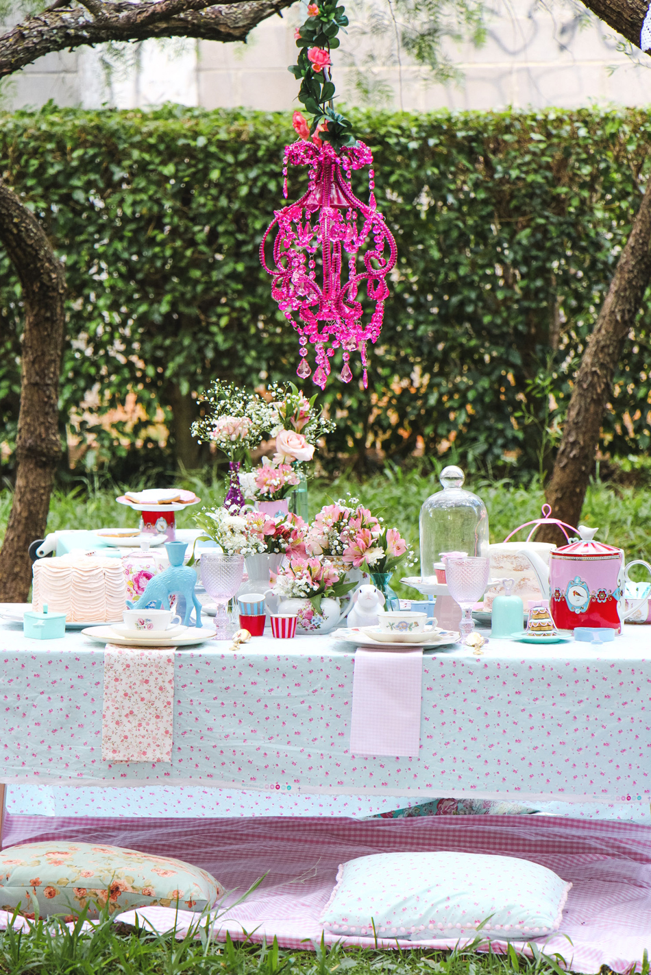 blog do math cha da tarde romantico no jardim vintage romantic garden tea party
