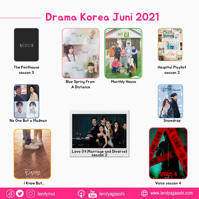 List Drama Korea Juni 2021