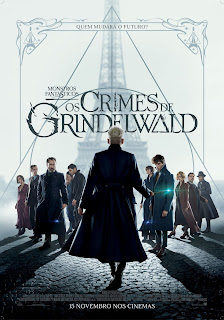 Monstros Fantásticos: Os Crimes de Grinderwald/ Fantastic Beasts: The Crimes of Grindelwald - Segundo Poster & Segundo Trailer