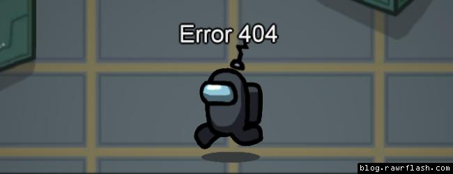 Among Us nome para usar meta error 404