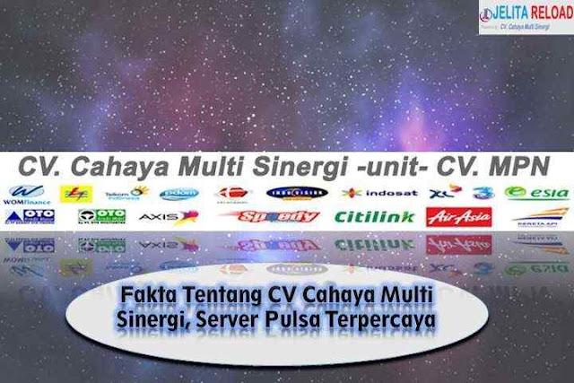 Fakta Tentang CV Cahaya Multi Sinergi, Server Pulsa Terpercaya