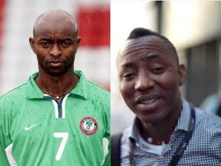 Finidi George and Omoyele Sowore