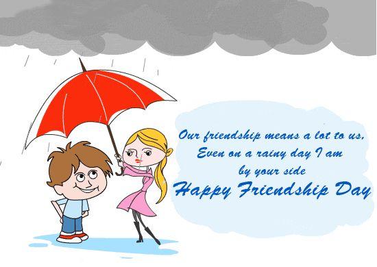 friendship day wishes to boy friend