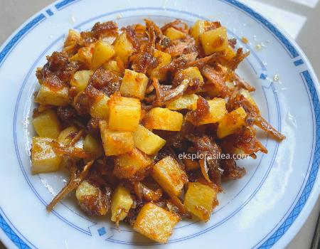 sambal kentang bilis berlada pedas