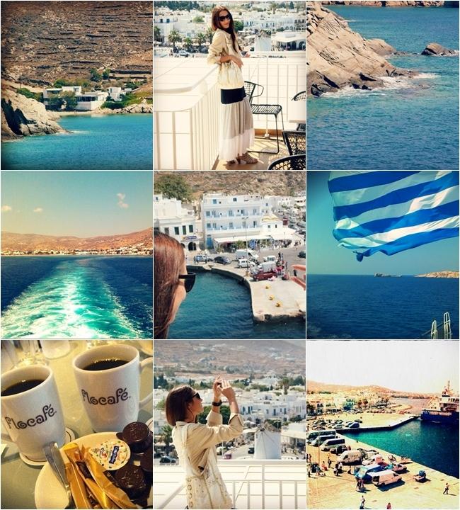 traveling to Santorini holiday travel photos