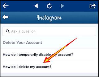Cara Menghapus Akun Instagram (IG) Yang Lupa Kata Sandi