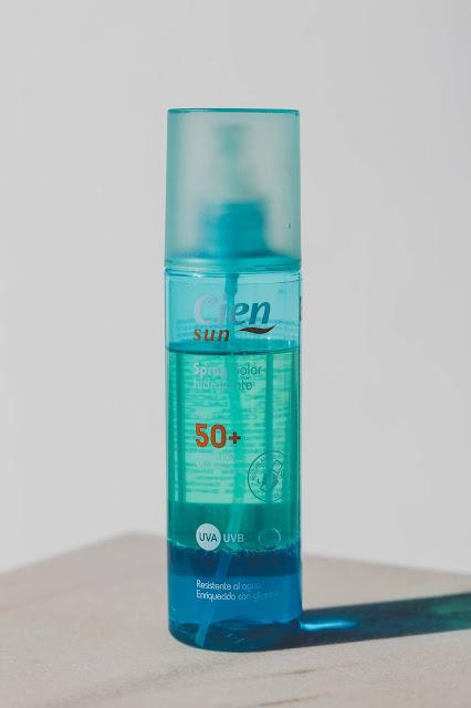 Spray solar de lidl de protección 50