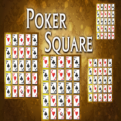Poker Square Card Game