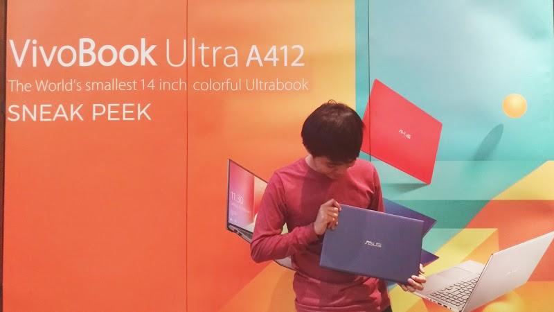 ASUS VivoBook Ultra A412 - Laptop Enteng Performa Keren