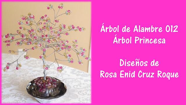Arbol De Alambre 012 - Arbol Princesa