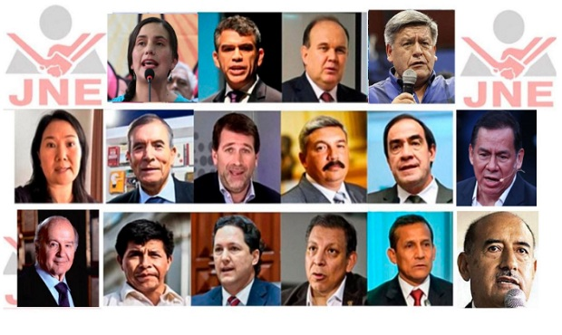 Elecciones 2021: revisa aquí los perfiles de los candidatos presidenciales