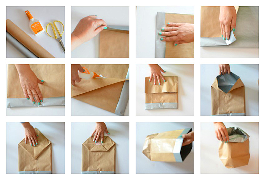 tutorial bolsas papel decoración