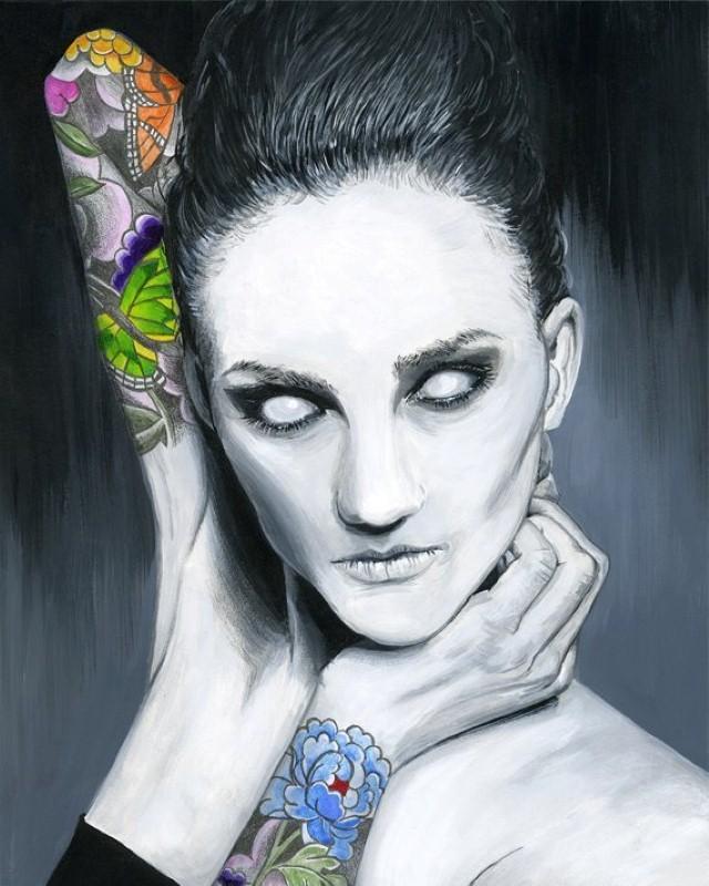 Притягательные и тревожные рисунки Мелиссы Хартли (Melissa Hartley) 7