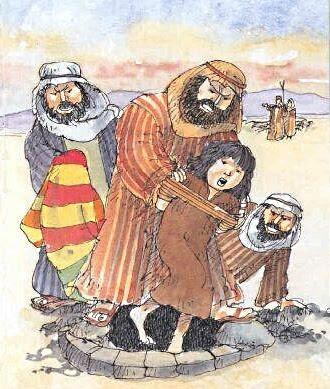 Giuseppe legato e gettato nel pozzo