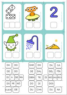 Fichas conciencia fonológica aprender a leer grin Educaplanet1