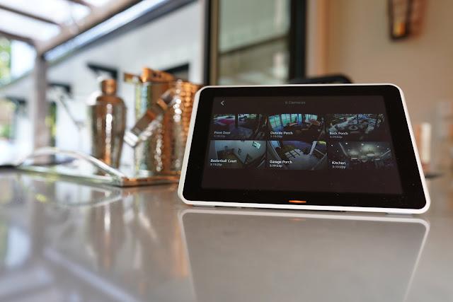 Xfinity Home Touchscreen