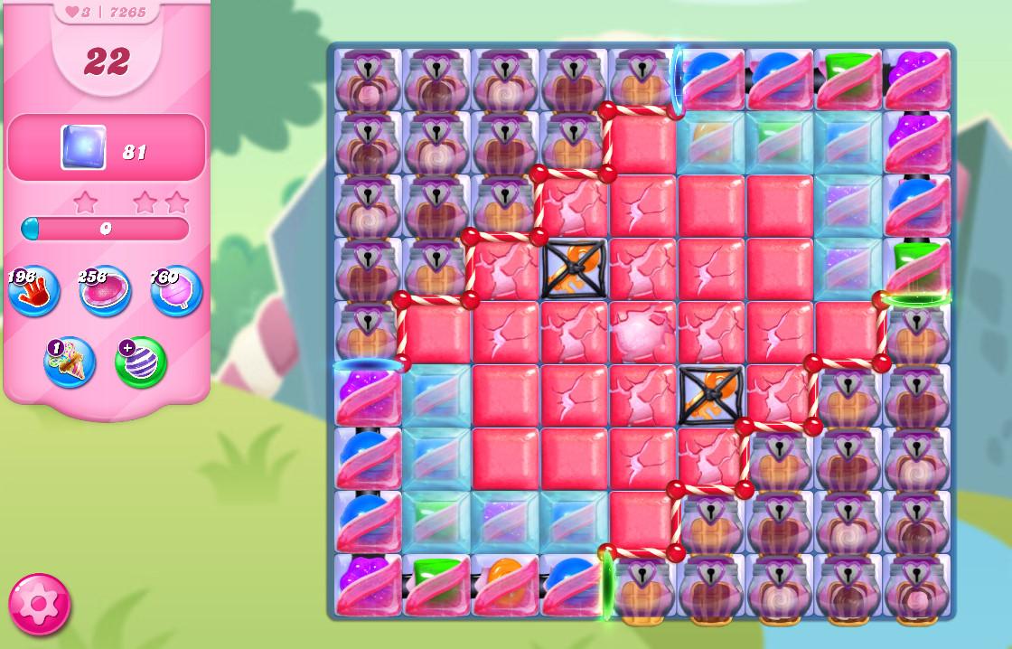 Candy Crush Saga level 7265