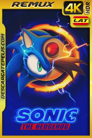 Sonic, La Película (2020) 4K BDREMUX HDR Latino – Ingles