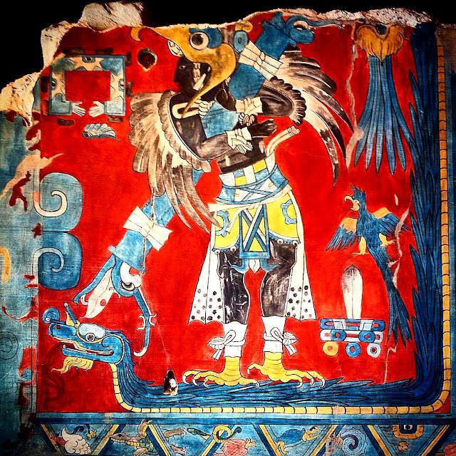 La lucha mitológica entre los Jaguares y dragones. La historia de la lucha mitológica entre las fuerzas del bien y del mal. Misterios de las religiones antiguas.
