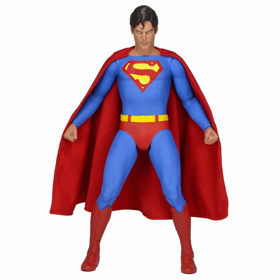neca superman christopher reeve