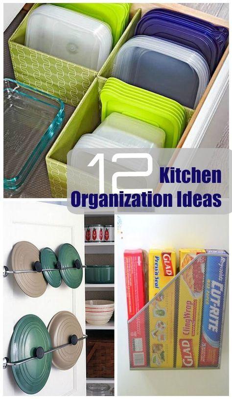 Super Simple Kitchen Organization Idea