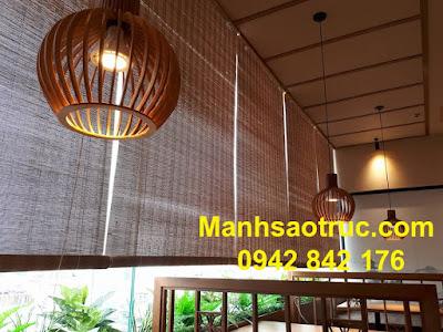 màn tre cao cấp nhà hàng