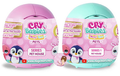 Cry Babies Magic Tears pets surprise toys 2020