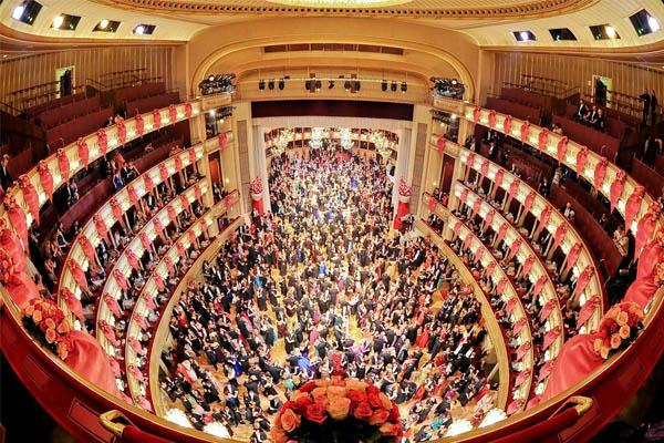 قاعة أوبرا فيينا