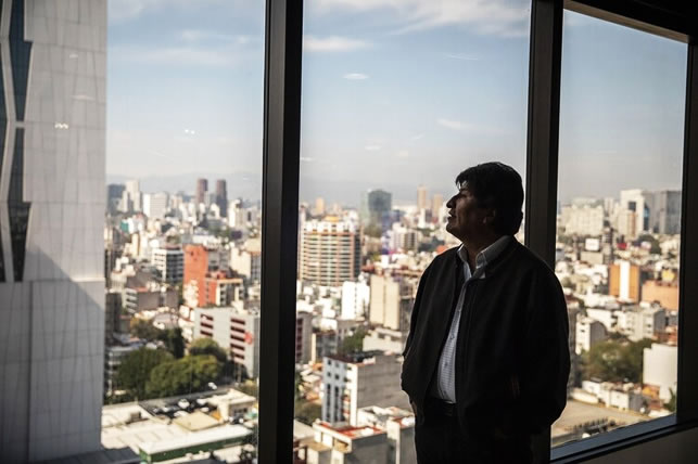Evo ofreció no presentarse a elecciones si le permiten regresar a Bolivia y terminar su mandato