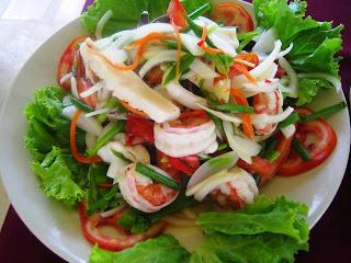 Recette du Salade de fruits de mer
