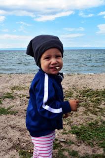ребёнок на Байкале