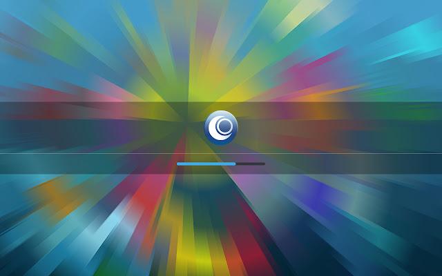 Loading OpenMandriva Desktop